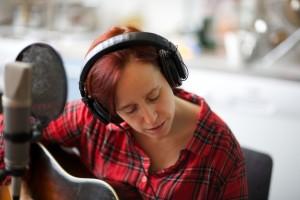 Sofie in Hammarby Studios December 2013